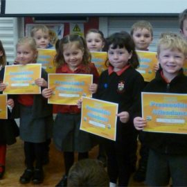 100% Attendance for the Spring Term